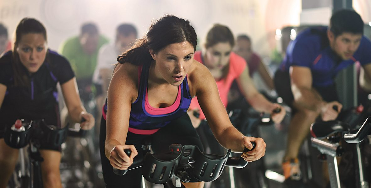 Cycling Class RISE Fitness