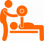 RISE FITNESS PERSONAL TRAINER ICON