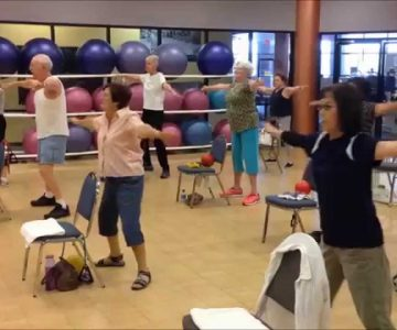 silversneakers cardio RISE Fitness